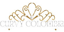 Curvy Colombia Mobile Logo